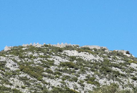Κάστρο των Απολίχνων, στα Αρμόλια